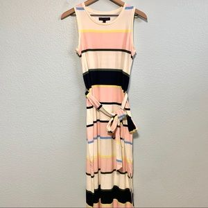 NWT Banana Republic striped tank dress XS